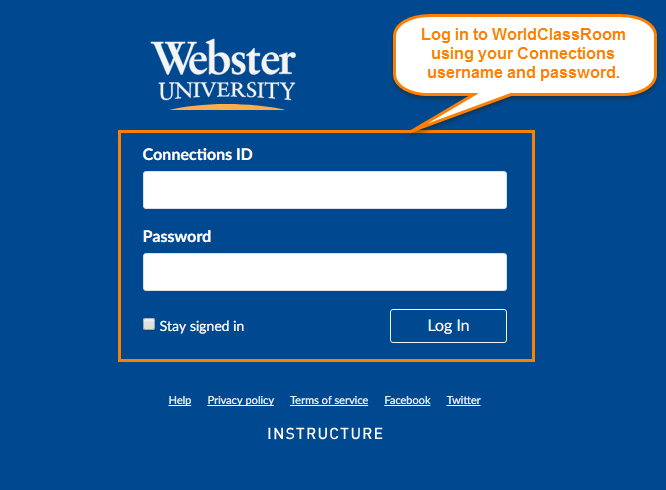WorldClassRoom Login