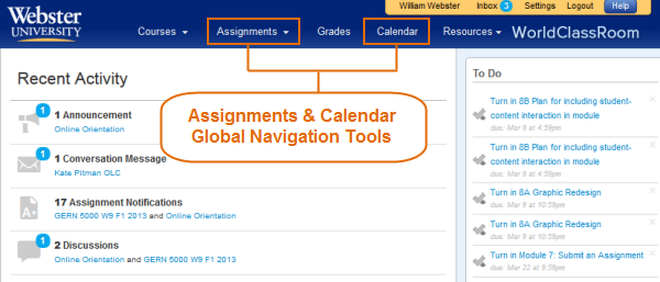 find assignments online